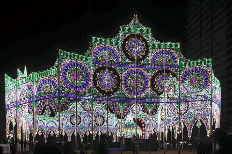 クリスマスムードに包まれた神戸北野