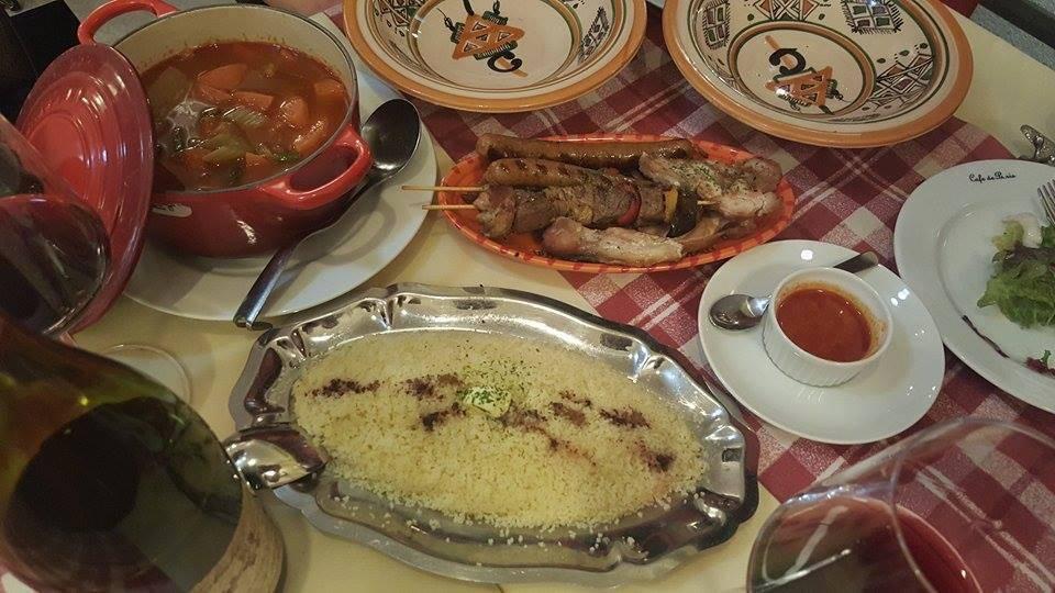 ほっこり料理、世界最小のパスタ、シェフ特製クスクス!!