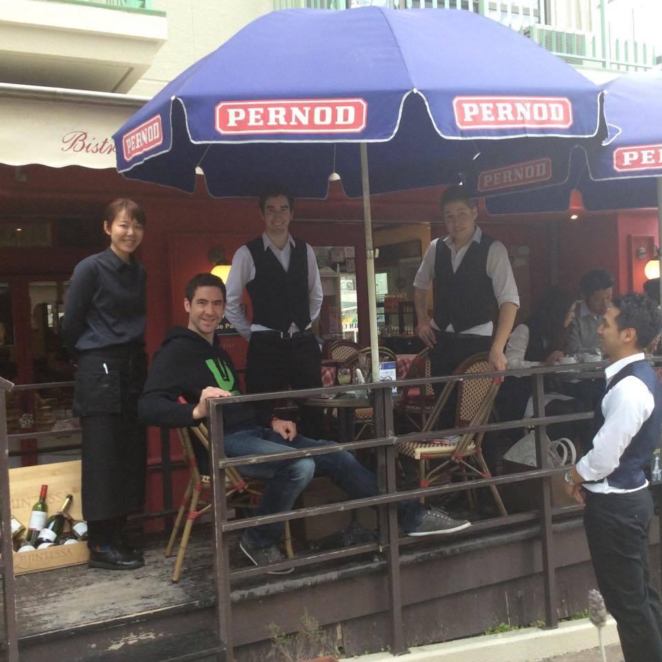 神戸北野フレンチレストラン ビストロ カフェ・ド・パリ
