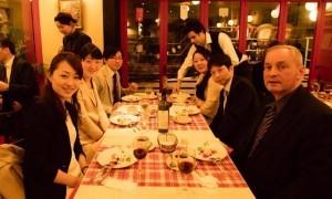 国際交流の場、在日フランス商工会議所 新会員歓迎会と懇親会ディナーが開催されました。