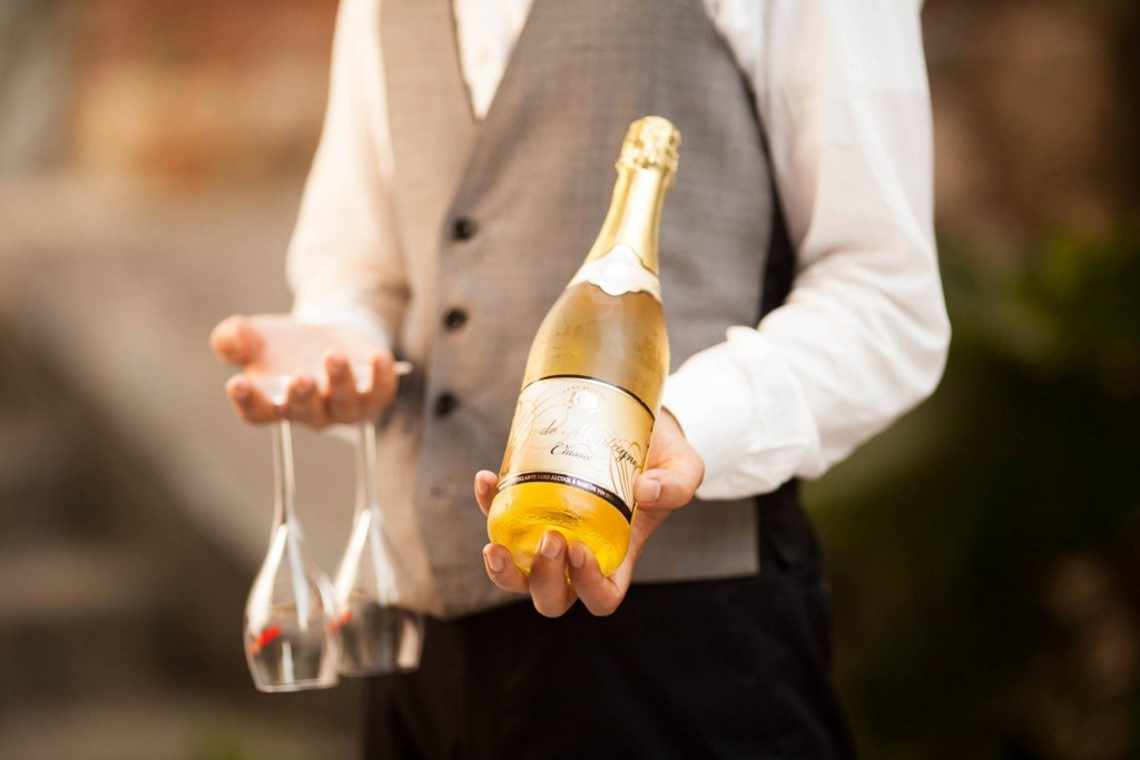 ノンアルコールスパーリングワインで楽しむランチとディナー♪