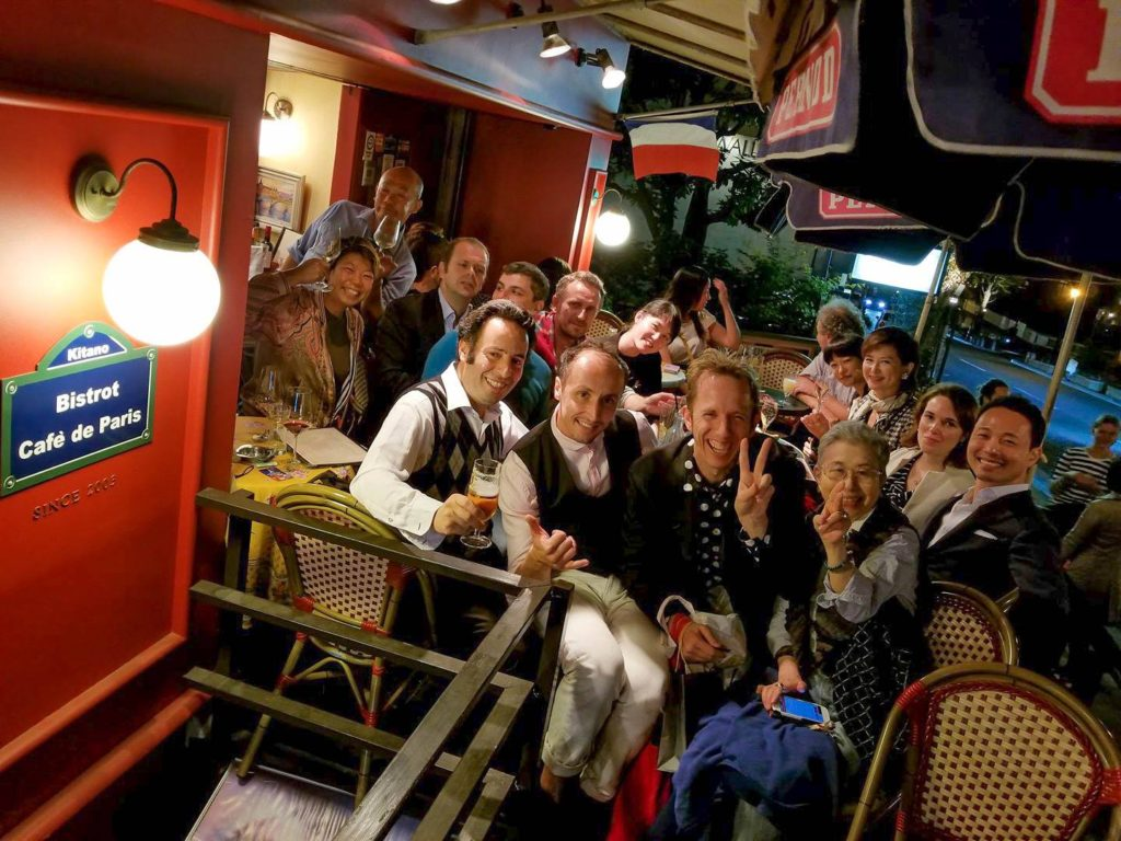 神戸FrenchPartyで皆さまと楽しい一時を過ごしました。