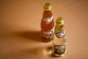 オレンジと洋梨味のフレンチレモネード