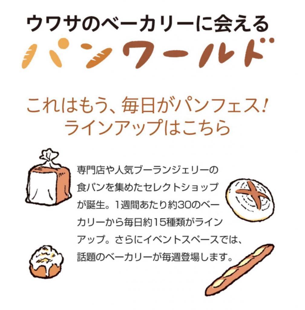 阪神梅田本店パンワールドに期間限定ショップをOPEN