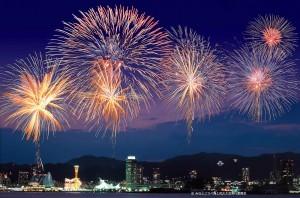 8月6日(土) 神戸の夜空を彩る夏の風物詩、第46回みなとこうべ海上花火大会が開催されます☆