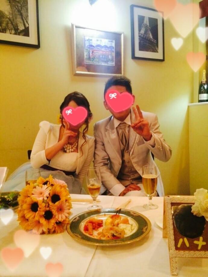 パリスタイルの結婚式2次会パーティー